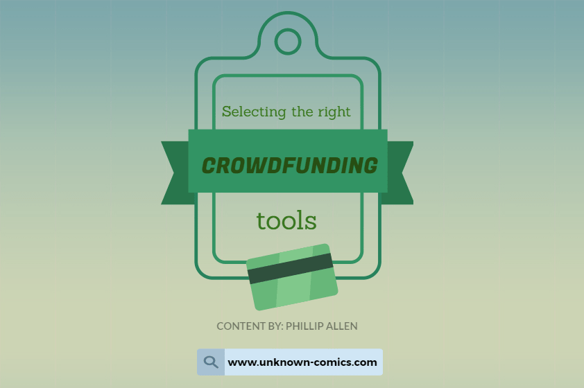 Selecting The Right Crowdfunding Tools Poster