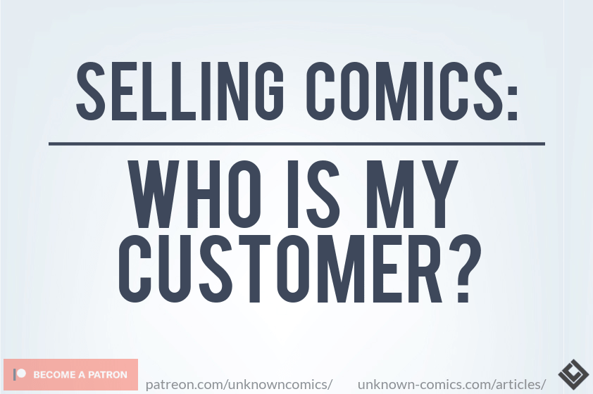 Selling Comics - Who Is My Customer Article Poster