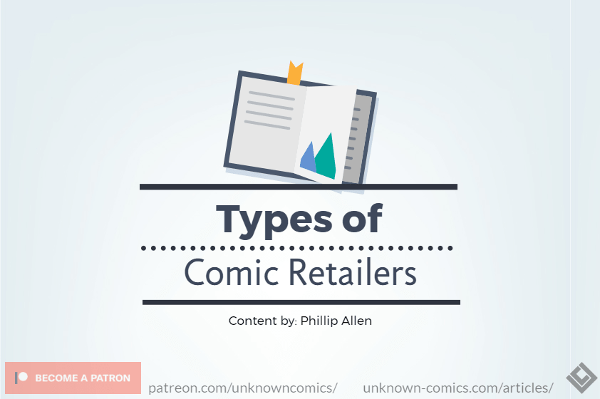 Types of Comic Retailers Article Poster