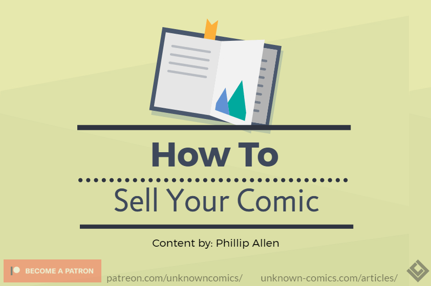 How To Sell Your Comic Article Poster