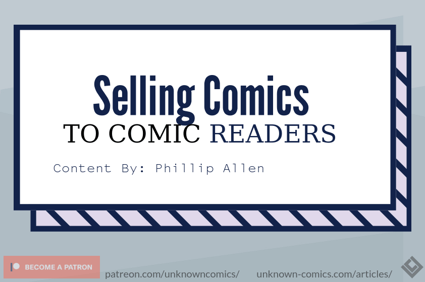 Selling Comics To Comic Readers Article Poster