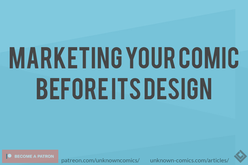 Marketing Your Comic Before Its Design Article Poster